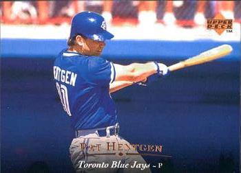 1995 Upper Deck #37 Pat Hentgen Front