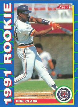 1991 Score Rookies #7 Phil Clark Front