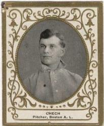 1909 Ramly Cigarettes T204 #24 Charles Chech Front