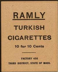 1909 Ramly Cigarettes T204 #99 Claude Ritchey Back