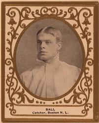 1909 Ramly Cigarettes T204 #5 Jim Ball Front