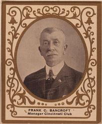 1909 Ramly Cigarettes T204 #7 Frank Bancroft Front