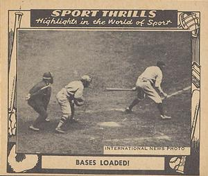 1948 Swell Sport Thrills #11 Bases Loaded: Alexander The Great - Grover C. Alexander Front