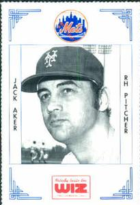 1991 Nobody Beats the Wiz New York Mets #4 Jack Aker Front