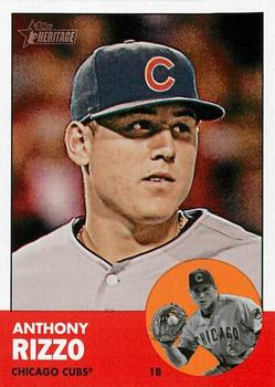 2013 Bowman Platinum Gold #18 Anthony Rizzo Chicago Cubs Baseball Card