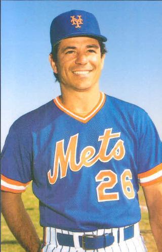 Außergewöhnlich 1985 TCMA New York Mets Postcards #NYM85 5 Bobby Valentine CO