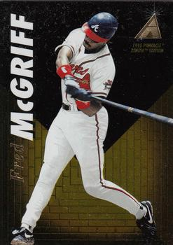 1995 Zenith #34 Fred McGriff Front