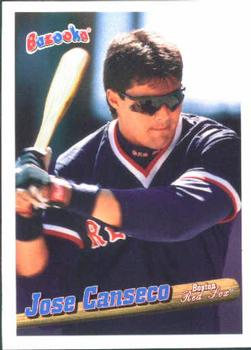 1996 Bazooka #108 Jose Canseco Front