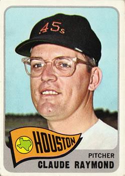 1965 topps baseball gallery the trading card database for Claude raymond piscine