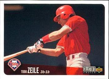 1996 Collector's Choice #674 Todd Zeile Front