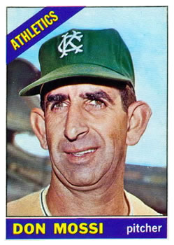 1966 Topps #74 Don Mossi Front