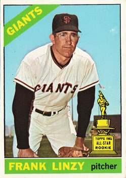 1966 Topps #78 Frank Linzy Front