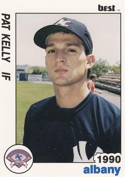 1990 Best Albany Yankees #16 Pat Kelly  Front