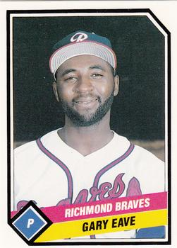 1989 CMC Richmond Braves #2 Gary Eave  Front