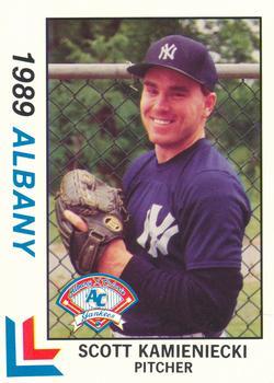 1989 Best Albany Yankees #25 Scott Kamieniecki  Front