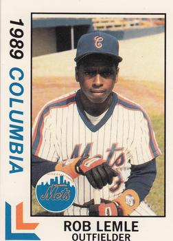 1989 Best Columbia Mets #4 Rob Lemle  Front