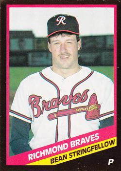 1988 CMC Richmond Braves #4 Bean Stringfellow Front