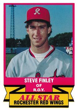 1988 CMC Triple A All-Stars #21 Steve Finley Front