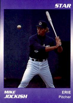 1990 Star Erie Sailors #10 Mike Jockish Front