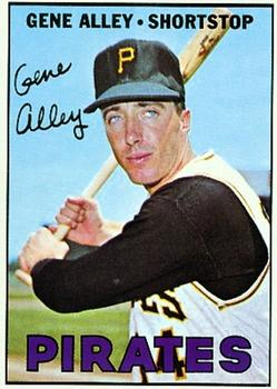 1967 Topps #283 Gene Alley Front