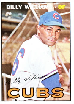 1967 Topps #315 Billy Williams Front
