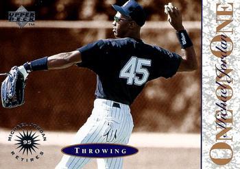 1995 Upper Deck Minors Michael Jordan One On One Baseball