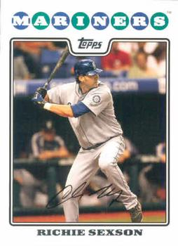 2008 Topps #239 Richie Sexson Front