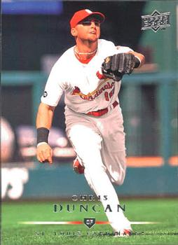 2008 Upper Deck #659 Chris Duncan Front