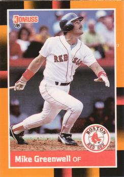 1988 Donruss Baseball's Best #177 Mike Greenwell Front