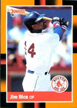 1988 Donruss Baseball's Best #28 Jim Rice Front