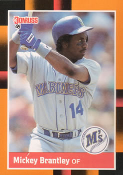 1988 Donruss Baseball's Best #80 Mickey Brantley Front