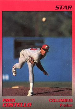 1989 Star Columbus Mudcats #6 Fred Costello Front