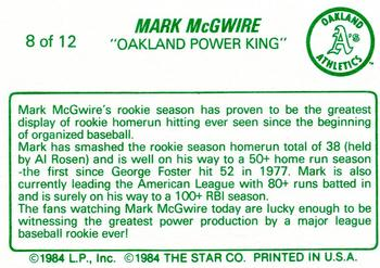 an overview of the career of mark mcgwire Mark mcgwire statistics and history welcome your account mark david mcgwire nicknames: big mac more bio, uniform 12x all-star 1989 world series gold glove 3x silver slugger 25 25 25 25 +3 support us without the ads go ad-free summary career war 622 ab 6187 r 1167.