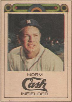 1968 Detroit Free Press Bubblegumless Detroit Tigers