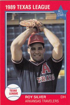 1989 Grand Slam Texas League All-Stars #38 Roy Silver Front