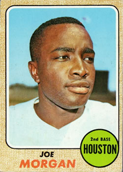 1968 Topps #144 Joe Morgan Front