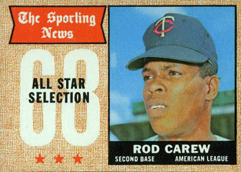 1968 Topps #363 Rod Carew Front
