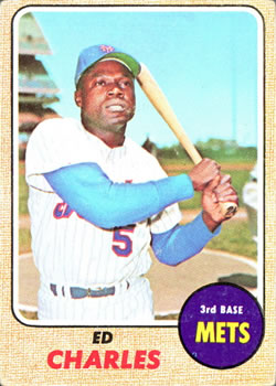 1968 Topps #563 Ed Charles Front
