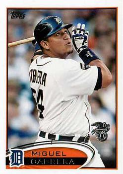 2012 Topps All-Stars American League #AL-3 Miguel Cabrera Front
