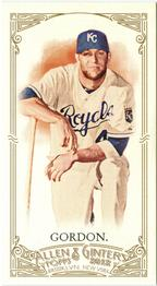 2012 Topps Allen & Ginter - Mini A and G Red Back #34 Alex Gordon Front