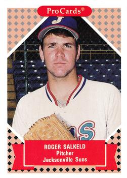 1991-92 ProCards Tomorrow's Heroes #140 Roger Salkeld Front