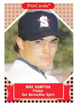1991-92 ProCards Tomorrow's Heroes #145 Mike Hampton Front