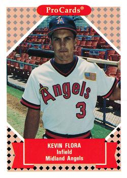 1991-92 ProCards Tomorrow's Heroes #33 Kevin Flora Front