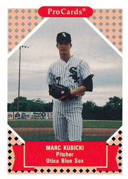 1991-92 ProCards Tomorrow's Heroes #48 Marc Kubicki Front