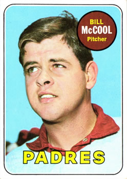 1969 Topps #129 Bill McCool Front
