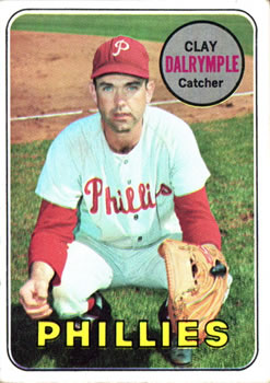 1969 Topps #151 Clay Dalrymple Front