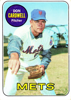 1969 Topps #193 Don Cardwell Front