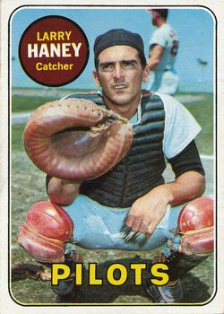 1969 Topps #209 Larry Haney Front