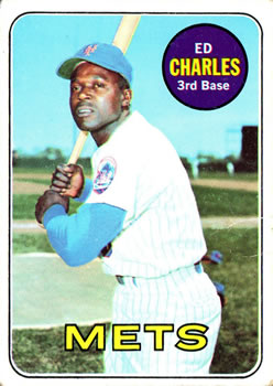 1969 Topps #245 Ed Charles Front