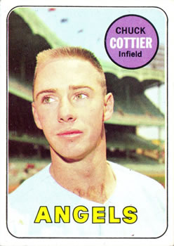 1969 Topps #252 Chuck Cottier Front